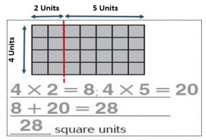 Chapter 11 - area of combined rectangles - image 40