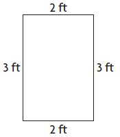 Go Math Grade 3 Answer Key Chapter 11 Perimeter and Area Assessment Test Test - Page 1 img 2