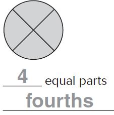 Go Math Grade 3 Answer Key Chapter 8 - Equal Parts for a whole Image - 1