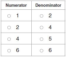 Go Math Grade 3 Answer Key Chapter 8 Understand Fractions Assessment Test Test - Page 3 img 12