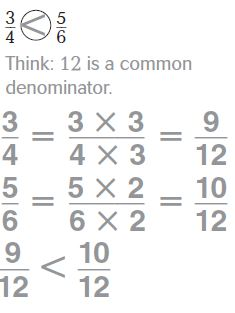 Go Math Grade 4 Answer Key Chapter 6 Fraction Equivalence and Comparison Common Core Compare Fractions img 26