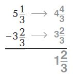 Go Math Grade 4 Answer Key Chapter 7 Add and Subtract Fractions Common Core - New Page No. 433 Q 1