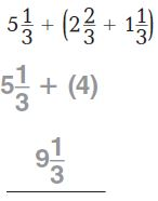 Go Math Grade 4 Answer Key Chapter 7 Add and Subtract Fractions Common Core - New Page No. 439 Q 1