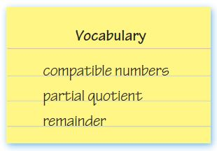 Go Math Grade 4 Answer Key Homework FL Chapter 4 Divide by 1-Digit Numbers Review Test img 1