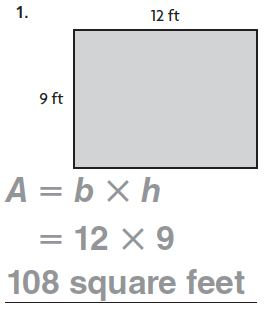 Go Math Grade 4 Answer Key Homework Practice FL Chapter 13 Algebra Perimeter and Area Common Core - Algebra: Perimeter and Area img 10