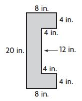 Go Math Grade 4 Answer Key Homework Practice FL Chapter 13 Algebra Perimeter and Area Common Core - Algebra: Perimeter and Area img 42