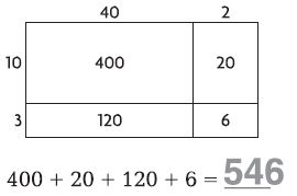 Go Math Grade 4 Answer Key Homework Practice FL Chapter 3 Multiply 2-Digit Numbers Common Core - Multiply 2-Digit Numbers img 2
