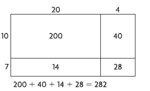 Go Math Grade 4 Answer Key Homework Practice FL Chapter 3 Multiply 2-Digit Numbers Common Core - Multiply 2-Digit Numbers img 3