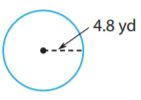Go Math Grade 7 Answer Key Chapter 9 Circumference, Area, and Volume img 3