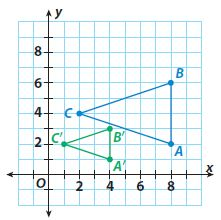 Go Math Grade 8 Answer Key Chapter 10 Transformations and Similarity Lesson 1: Properties of Dilations img 4