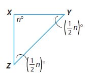 Go Math Grade 8 Answer Key Chapter 11 Angle Relationships in Parallel Lines and Triangles Lesson 2: Angle Theorems for Triangles img 10