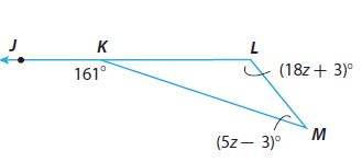 Go Math Grade 8 Answer Key Chapter 11 Angle Relationships in Parallel Lines and Triangles Lesson 2: Angle Theorems for Triangles img 12