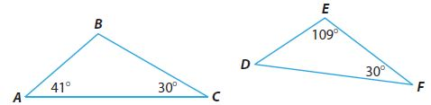 Go Math Grade 8 Answer Key Chapter 11 Angle Relationships in Parallel Lines and Triangles Lesson 3: Angle-Angle Similarity img 20