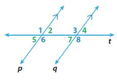 Go Math Grade 8 Answer Key Chapter 11 Angle Relationships in Parallel Lines and Triangles Model Quiz img 26