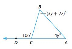 Go Math Grade 8 Answer Key Chapter 11 Angle Relationships in Parallel Lines and Triangles Model Quiz img 27