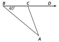Go Math Grade 8 Answer Key Chapter 11 Angle Relationships in Parallel Lines and Triangles Mixed Review img 30