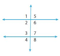 Go Math Grade 8 Answer Key Chapter 11 Angle Relationships in Parallel Lines and Triangles Lesson 1: Parallel Lines Cut by a Transversal img 6