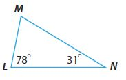 Go Math Grade 8 Answer Key Chapter 11 Angle Relationships in Parallel Lines and Triangles Lesson 2: Angle Theorems for Triangles img 7