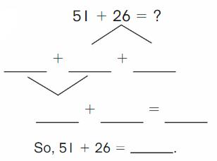 Big Ideas Math Answer Key Grade 2 Chapter 3 Addition to 100 Strategies 153