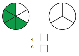 Big Ideas Math Answer Key Grade 3 Chapter 11 Understand Fraction Equivalence and Comparison 11.1 17