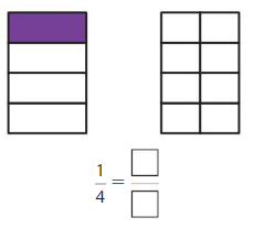Big Ideas Math Answer Key Grade 3 Chapter 11 Understand Fraction Equivalence and Comparison 11.1 3