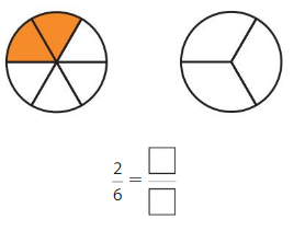 Big Ideas Math Answer Key Grade 3 Chapter 11 Understand Fraction Equivalence and Comparison 11.1 4