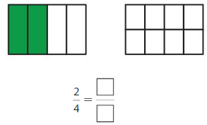 Big Ideas Math Answer Key Grade 3 Chapter 11 Understand Fraction Equivalence and Comparison 11.1 6