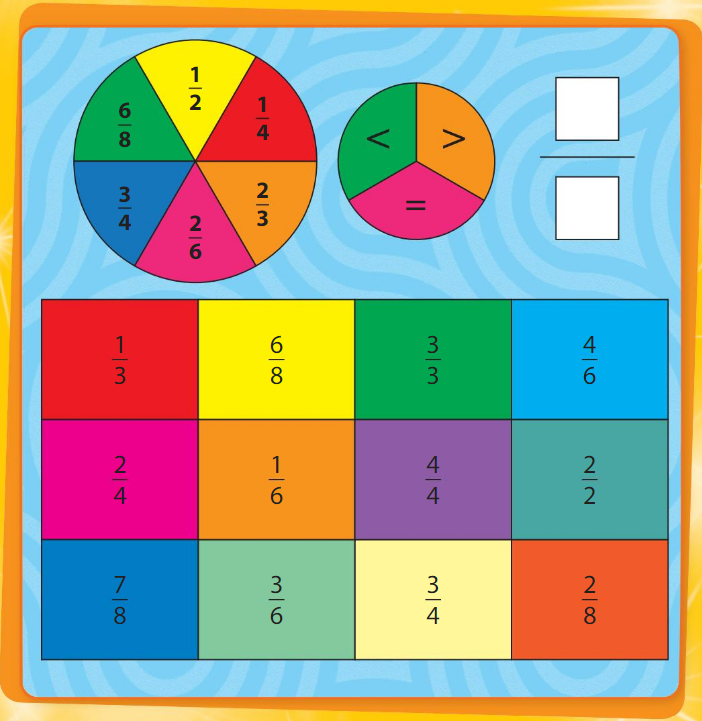 Big Ideas Math Answer Key Grade 3 Chapter 11 Understand Fraction Equivalence and Comparison 3