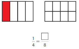 Big Ideas Math Answer Key Grade 3 Chapter 11 Understand Fraction Equivalence and Comparison chp 1