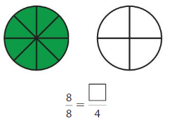 Big Ideas Math Answer Key Grade 3 Chapter 11 Understand Fraction Equivalence and Comparison chp 2