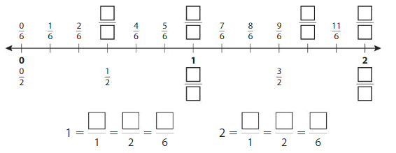 Big Ideas Math Answer Key Grade 3 Chapter 11 Understand Fraction Equivalence and Comparison chp 6