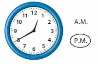 Big Ideas Math Answer Key Grade 3 Chapter 12 Understand Time, Liquid Volume, and Mass 225