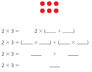 Big Ideas Math Answer Key Grade 3 Chapter 3 More Multiplication Facts and Strategies 3.1 6