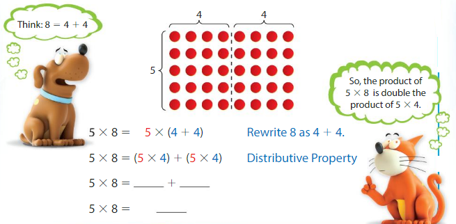 Big Ideas Math Answer Key Grade 3 Chapter 3 More Multiplication Facts and Strategies 3.5 3