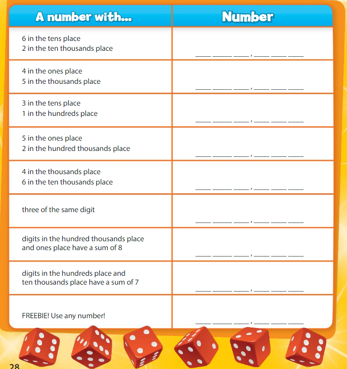 Big Ideas Math Answer Key Grade 4 Chapter 1 Place Value Concepts 2