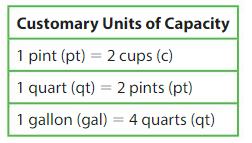 Big Ideas Math Answer Key Grade 4 Chapter 11 Understand Measurement Equivalence 11.5 2.1
