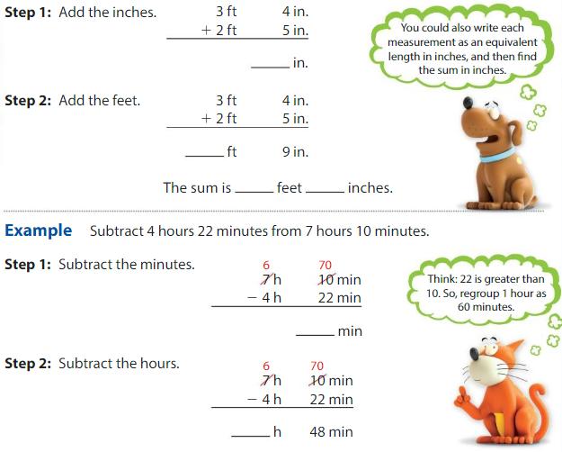 Big Ideas Math Answer Key Grade 4 Chapter 11 Understand Measurement Equivalence 11.9 2