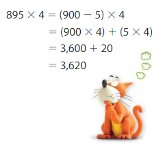 Big Ideas Math Answer Key Grade 4 Chapter 3 Multiply by One-Digit Numbers 3.9 7