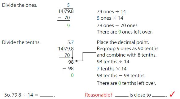 Big Ideas Math Answer Key Grade 5 Chapter 7 Divide Decimals 7.5 2
