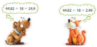 Big Ideas Math Answer Key Grade 5 Chapter 7 Divide Decimals 7.5 4