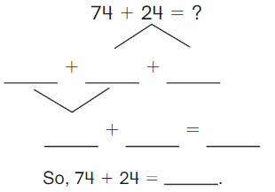 Big Ideas Math Answers 2nd Grade Chapter 3 Addition to 100 Strategies 76
