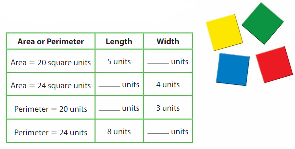 Big Ideas Math Answers 4th Grade Chapter 12 Use Perimeter and Area Formulas 44