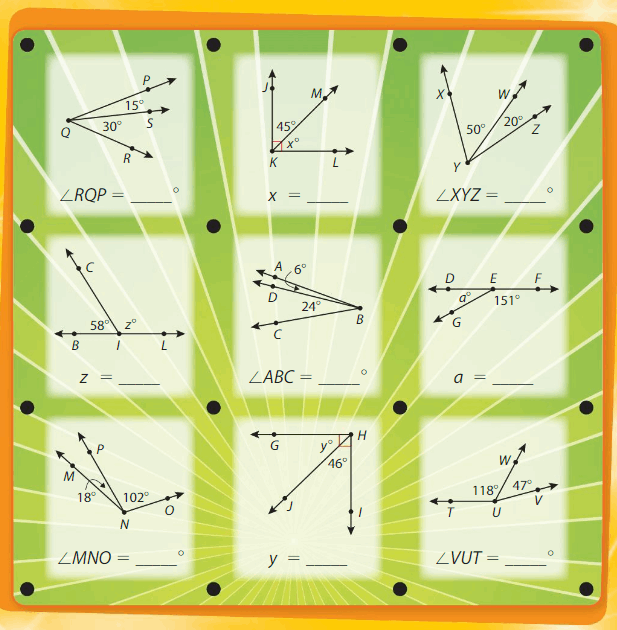 Big Ideas Math Answers 4th Grade Chapter 13 Identify and Draw Lines and Angles 192