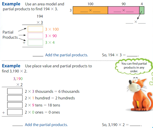 Big Ideas Math Answers 4th Grade Chapter 3 Multiply by One-Digit Numbers 3.6 3