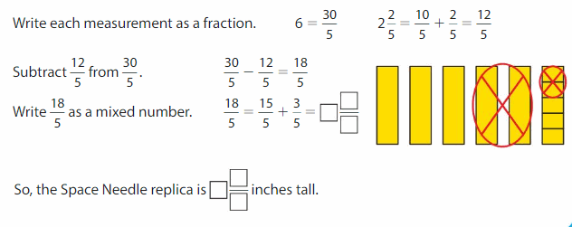 Big Ideas Math Answers 4th Grade Chapter 8 Add and Subtract Fractions 179