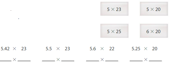 Big Ideas Math Answers 5th Grade Chapter 5 Multiply Decimals 5.2 1