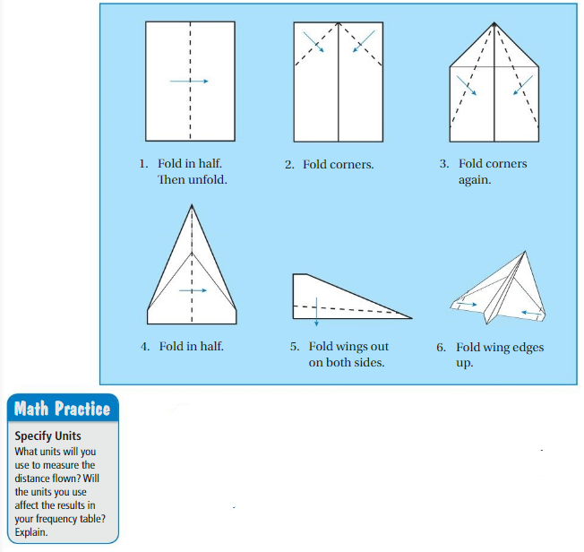 Big Ideas Math Answers 6th Grade Chapter 10 Data Displays 10.2 1