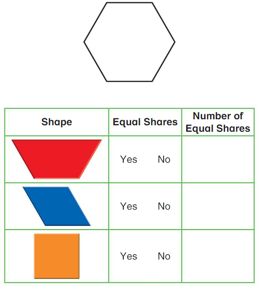 Big Ideas Math Answers Grade 2 Chapter 15 Identify and Partition Shapes 15.7 1