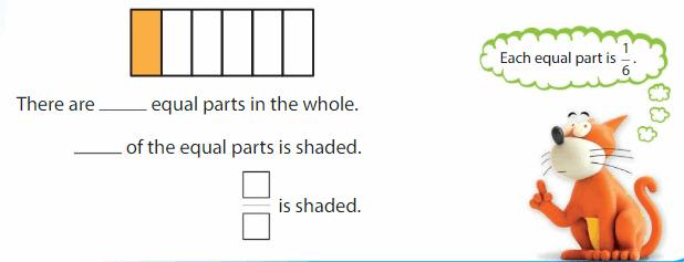 Big Ideas Math Answers Grade 3 Chapter 10 Understand Fractions 35