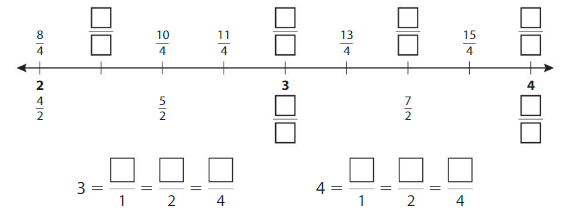 Big Ideas Math Answers Grade 3 Chapter 11 Understand Fraction Equivalence and Comparison 11.3 16
